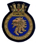 FEARLESS - Blazer Badge~OFFICIALLY LICENCED PRODUCT
